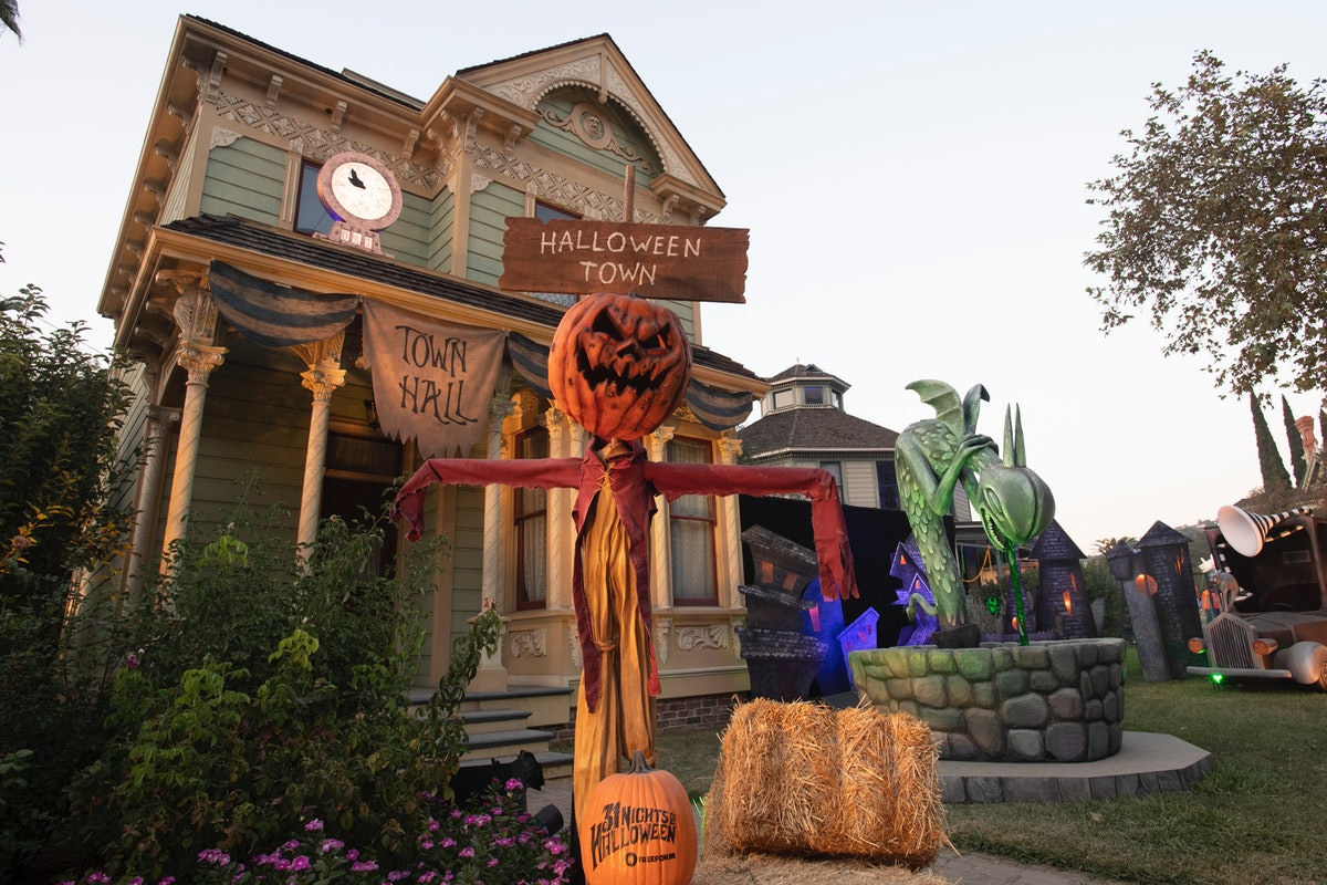 The Halloween Town Hall from Disney's 'Nightmare Before Christmas' will be at Freeform's Halloween R...