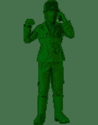 Green Army Kids Costume