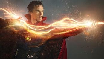 Benedict Cumberbatch as Doctor Strange.