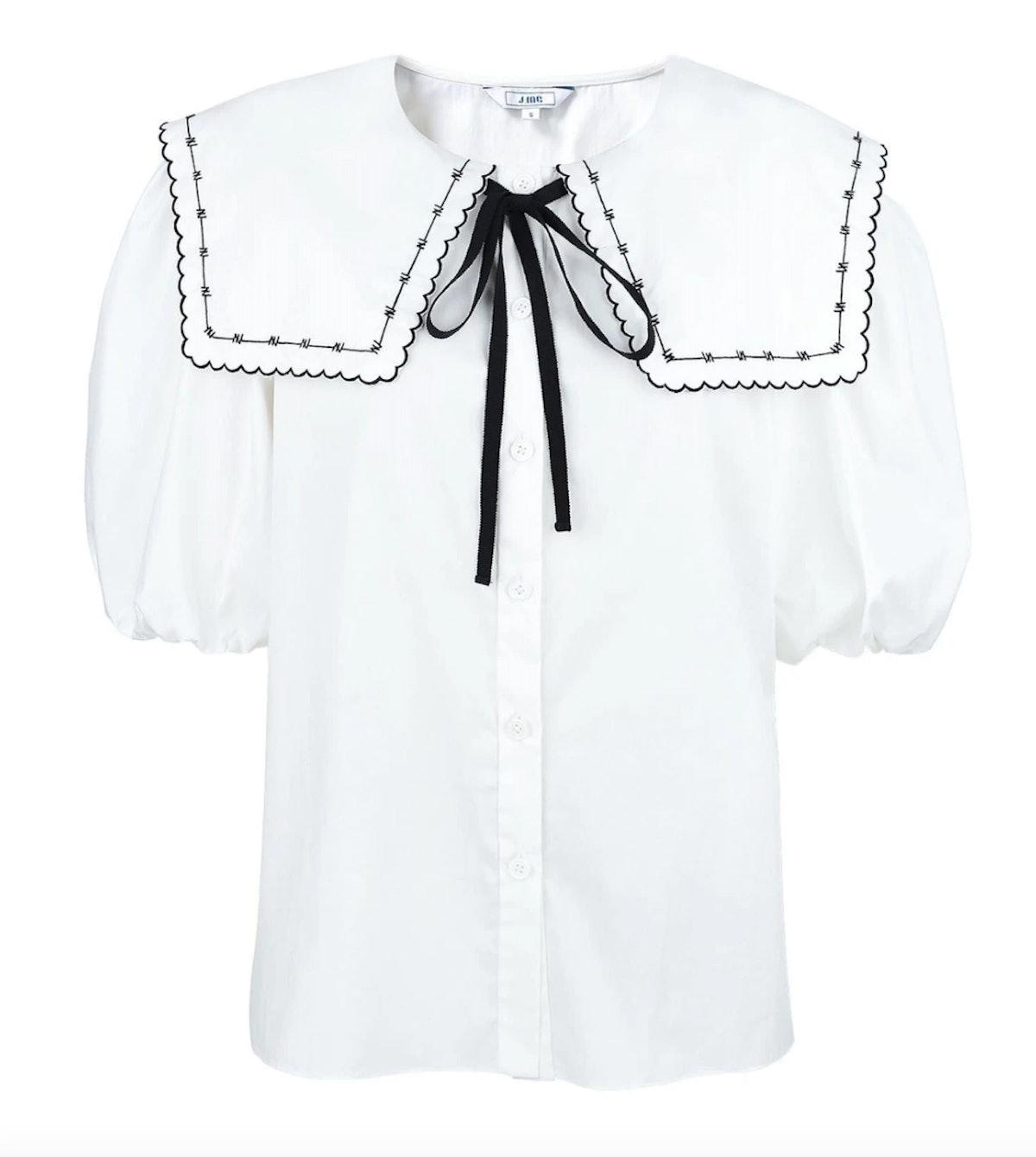 J.ING's Hawthorne Academy Collar Blouse.