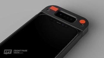 iPhone Face ID prototype hardware