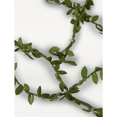 Green Leaf String Lights