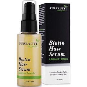 Meraz Pureauty Naturals Biotin Hair Growth Serumm 2 Fl. Oz.