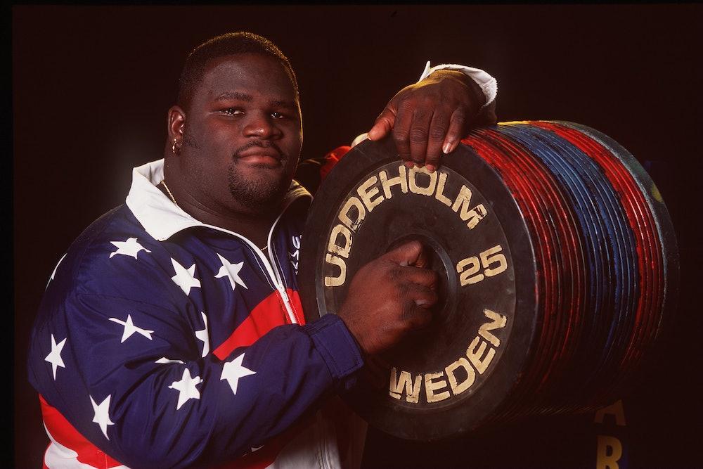Super Heavyweight weight lifter Mark Henry