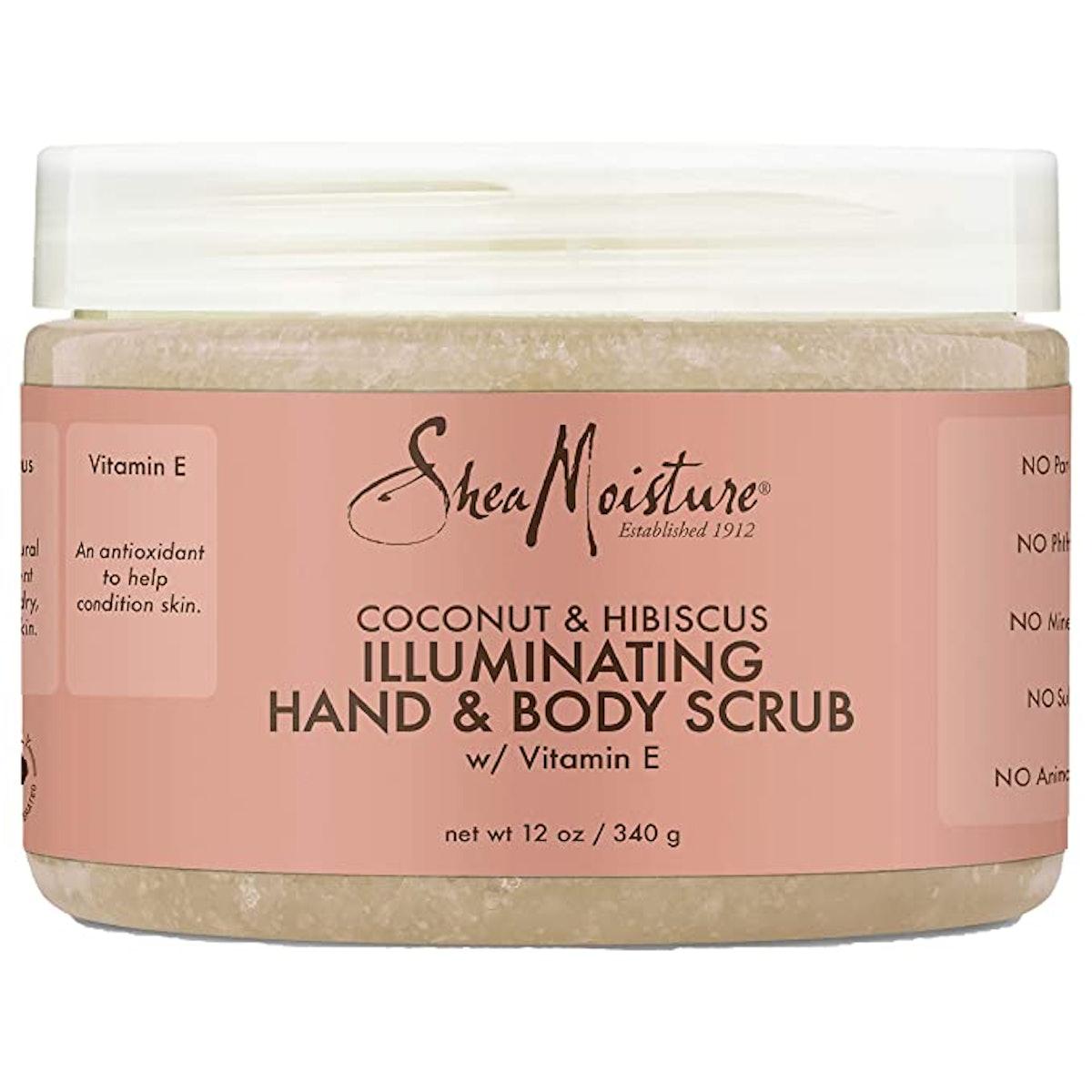 SheaMoisture Illuminating Hand and Body Scrub