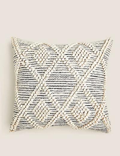 Tufted Diamond Cushion