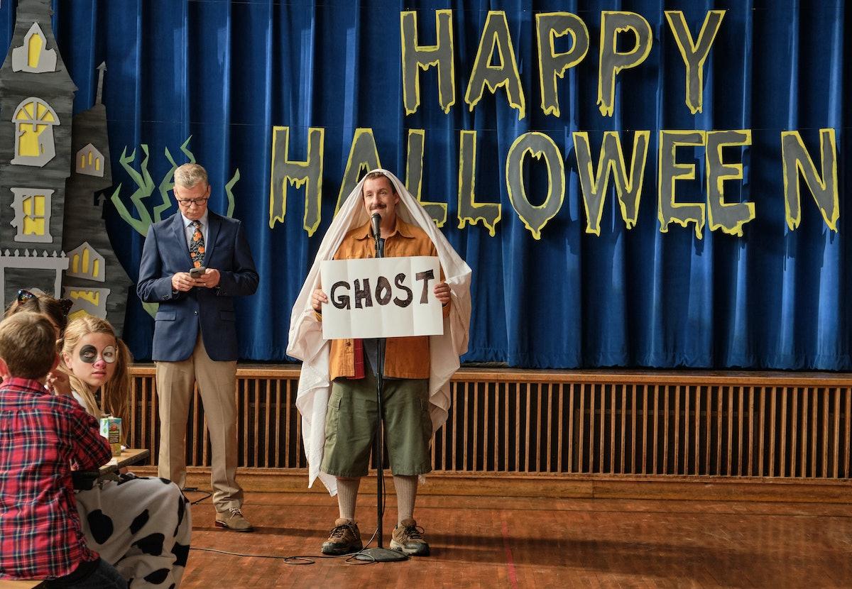 Adam Sandler as Hubie Dubois in Netflix's 'Hubie Halloween'