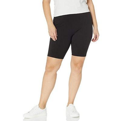 Just My Size Plus-Size Stretch Jersey Bike Short