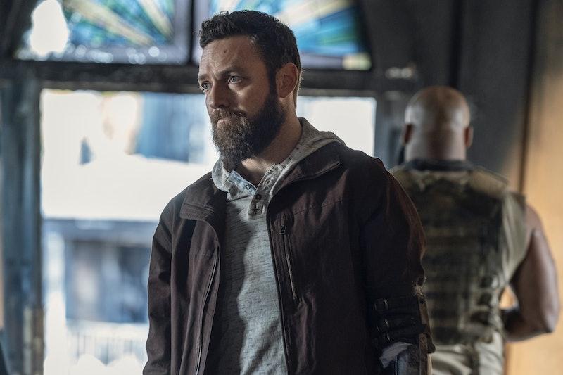 Aaron in 'The Walking Dead' Season 11