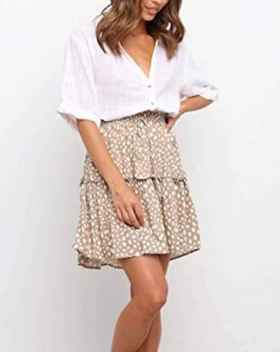 Alelly Mini Ruffle Skirt
