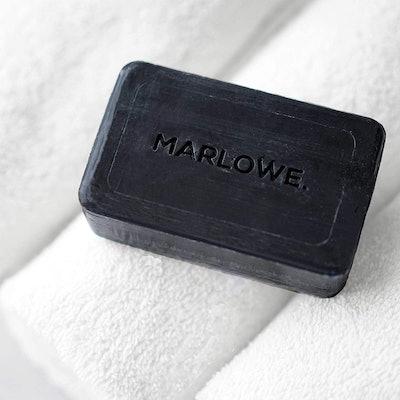 MARLOWE. Charcoal Face & Body Soap Bar
