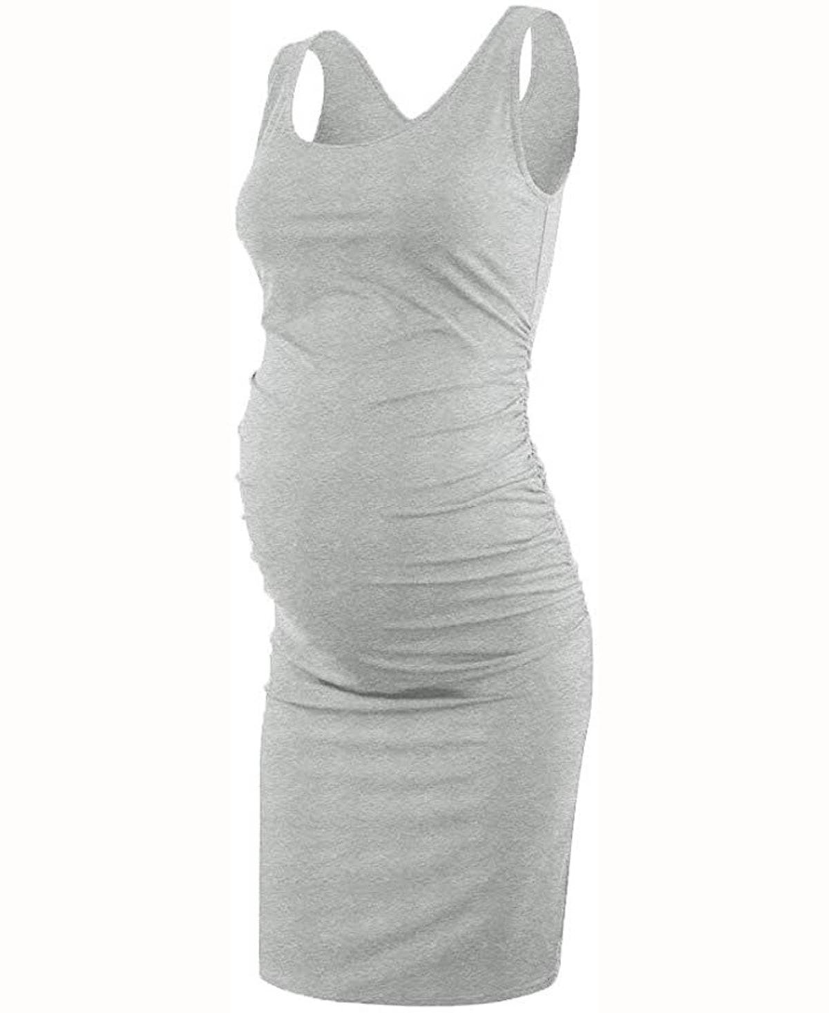 Liu & Qu Maternity Sleeveless Tank Dress