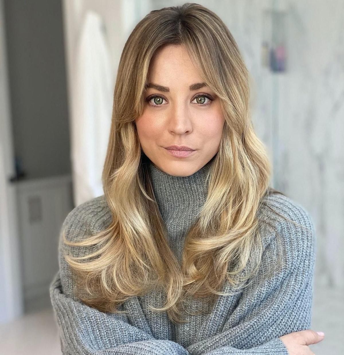 Christine Symonds hairstyle