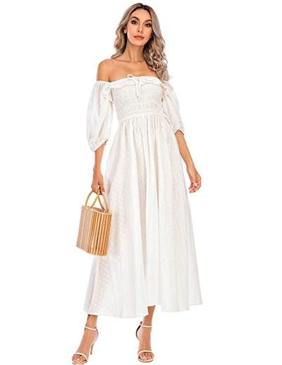 R.Vivimos Ruffled Vintage Dress