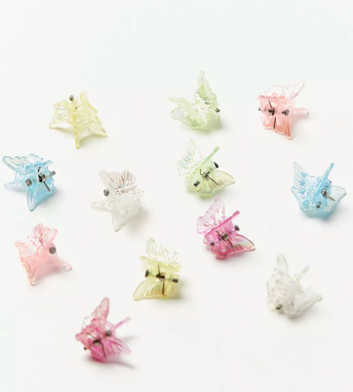 Urban Renewal Vintage Colorful Mini Butterfly Clip Set