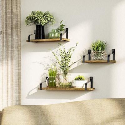 love-KANKEI Floating Shelves (Set of 3)