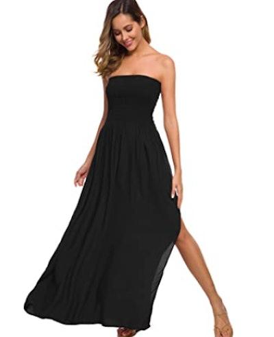 Just Quella Strapless Maxi Dress