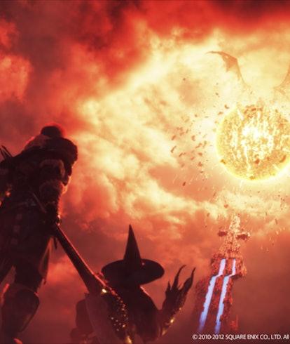 screenshot from Final Fantasy 14 A Realm Reborn trailer