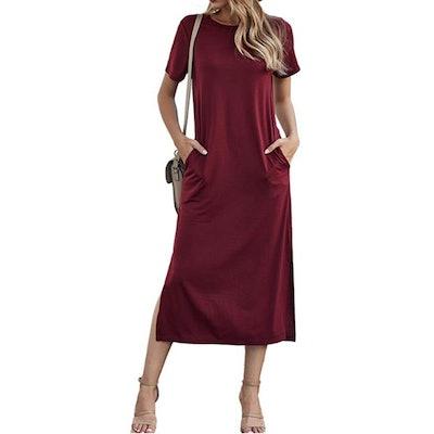 Naggoo Split Maxi Dress