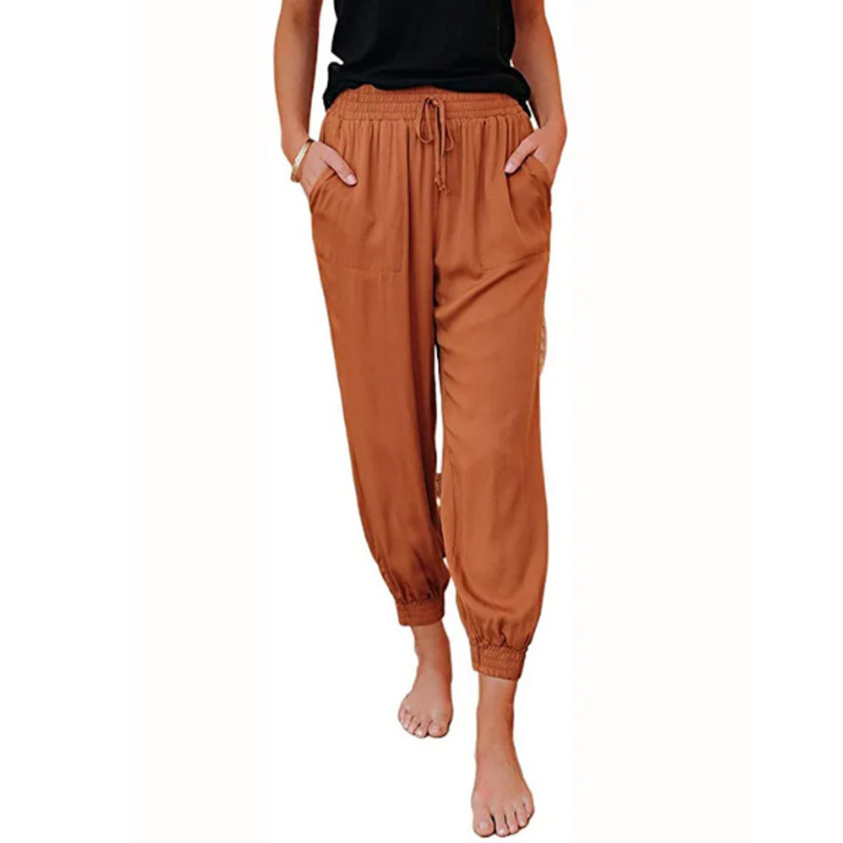 Dokotoo Soft Casual Jogger Pants with Pockets