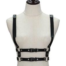 Sohma Faux Leather Body Harness Belt