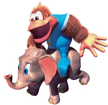Donkey Kong Country 3: Dixie Kong's Double Trouble! ellie the elephant