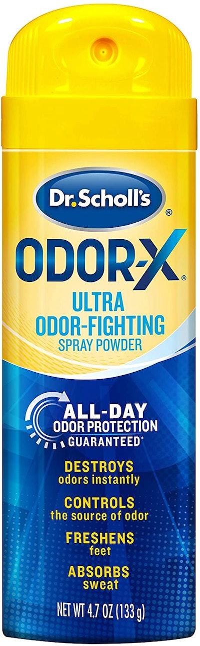 Dr. Scholl's Odor-X Odor-Fighting Spray Powder (4.7 Oz)