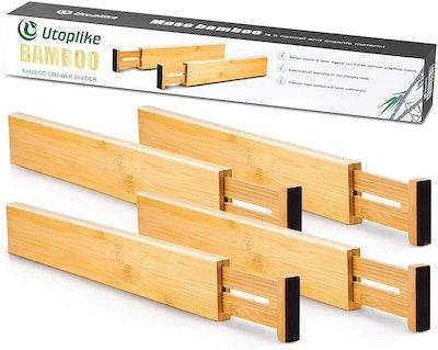Utoplike Adjustable Drawer Dividers