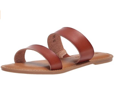 Amazon Essentials Women's Two Band Sandal Flat