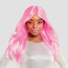 Hyde & EEK! Boutique Adult Pink Sultry Siren Halloween Wig