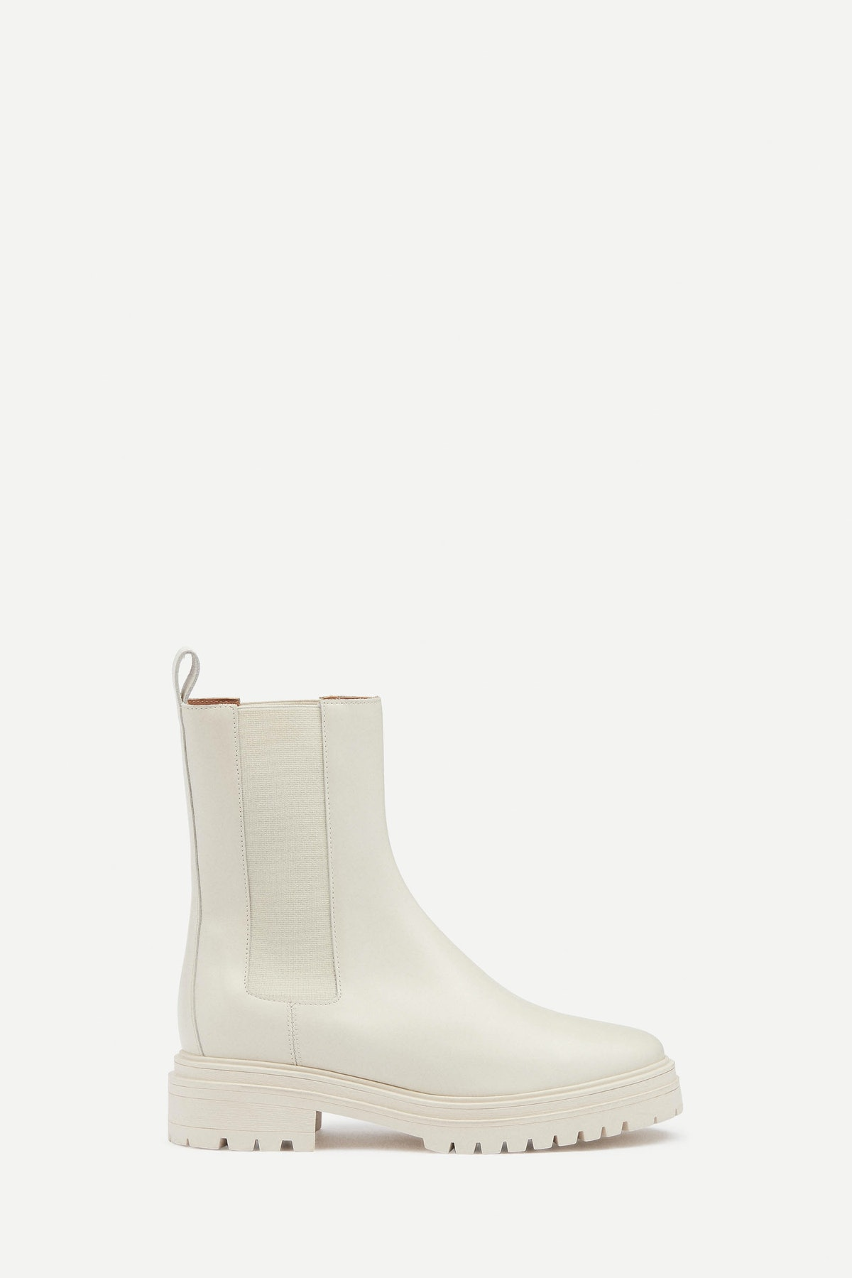 Coda Chelsea Boots in Off-White