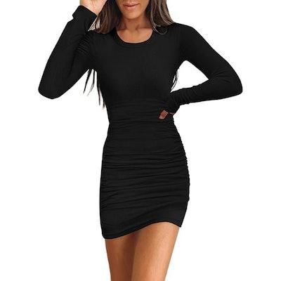 Samefar Ribbed Bodycon Mini Dress