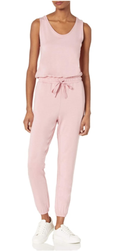 Daily Ritual Terry Relaxed-Fit Sleeveless Jumpsuit