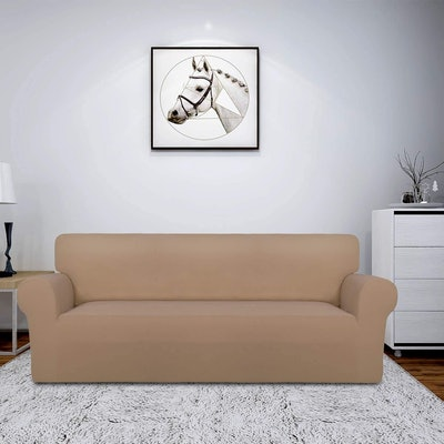 Easy-Going Fleece Stretch Sofa Slipcover