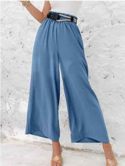 Eteviolet Wide Leg Pants
