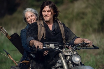 Carol and Daryl are set to star in an upcoming 'Walking Dead' spinoff series. Photo via AMC