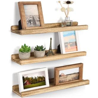 Emfogo Wall Shelves with Ledge (Set of 3)