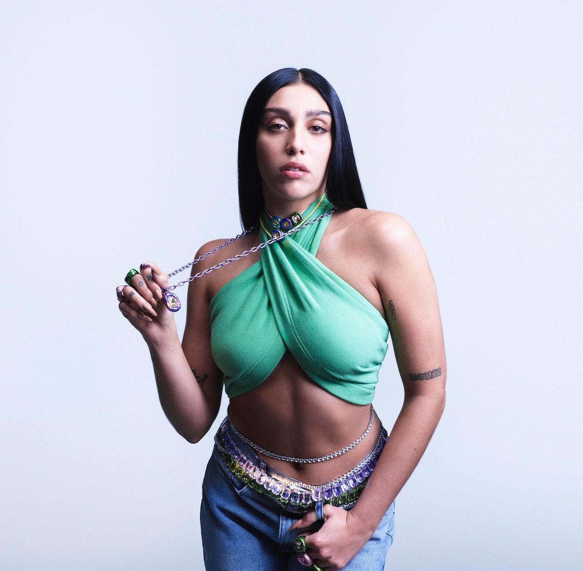 Lourdes Leon in Swarovski's Collection II campaign.