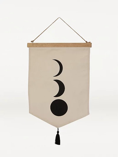 Natural Moon Hanging Canvas
