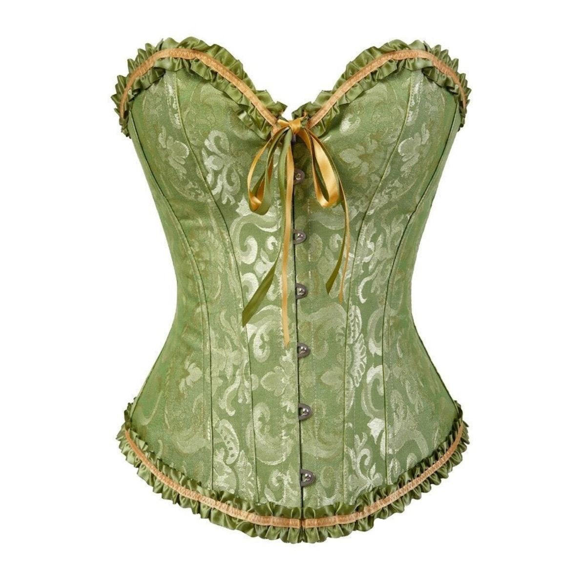 MadameLorrain Corset Underbust Lingerie Woman Renaissance Alt Aesthetic Victorian Plus Size Corset