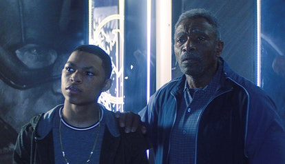 Carl Lumbly and Elijah Richardson appear in Marvel's 'The Falcon and the Winter Soldier' on Disney+.