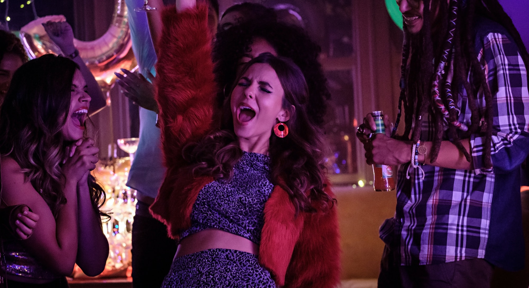 Victoria Justice in 'Afterlife of the Party.'