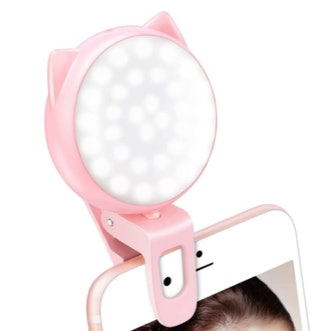 OURRY Clip-On Selfie Ring Light