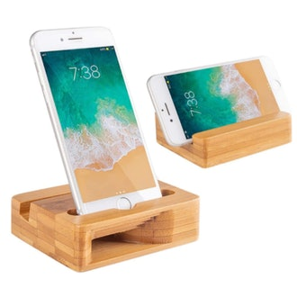 Encozy Bamboo Phone Stand