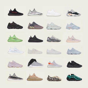 Adidas Yeezy Day offerings