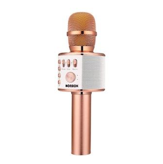 BONAOK Wireless Bluetooth Karaoke Microphone