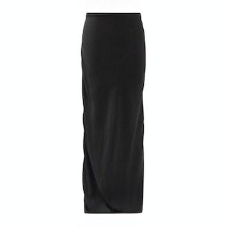 Ann Demeulemeester Kuiper Low-Rise Maxi Skirt