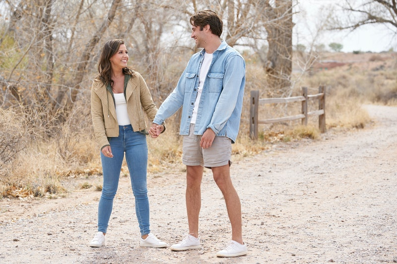 Katie Thurston and Greg Grippo on a date during 'The Bachelorette'
