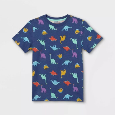 Boy's Printed Short Sleeve T-shirt