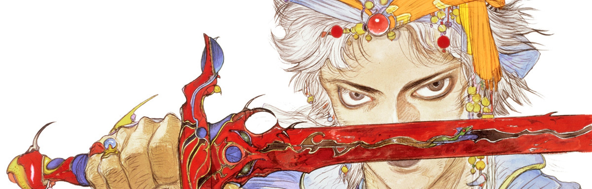 final fantasy 2 firion art amano
